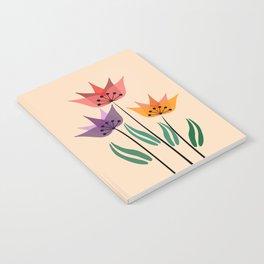 Retro tulips Notebook