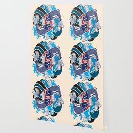 Japanese Tattoo Vector Wallpaper