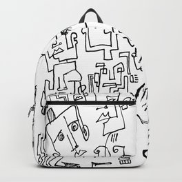 ten faced Backpack