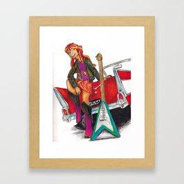 Rockin n Rollin Framed Art Print