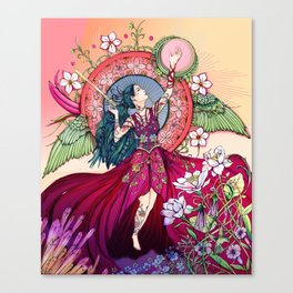 Goddess of the Equinox Canvas Print