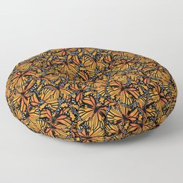 Monarch Butterflies Pattern | Butterfly Pattern | Floor Pillow