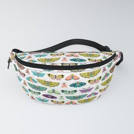 Vintage Moths Collection // Butterfly Art Fanny Pack