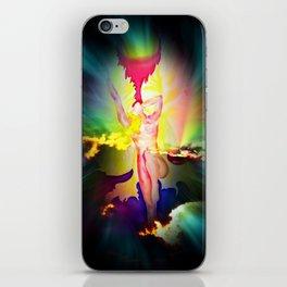 Heavenly appearance angel iPhone Skin