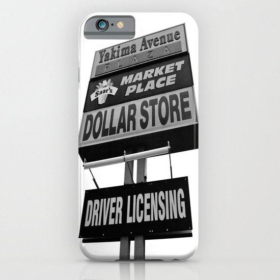 Yakima Ave. Plaza iPhone & iPod Case