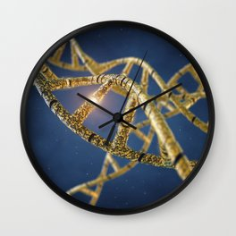 Genetic engineering Wall Clock