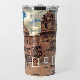 Plaza de Armas, Cusco Peru Travel Mug