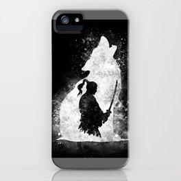 The Lone Samurai iPhone Case