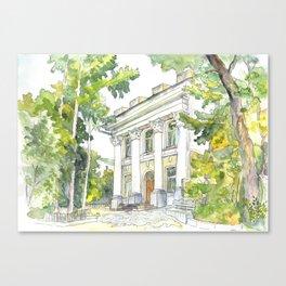 Museum Canvas Print
