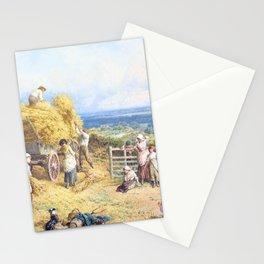12,000pixel-500dpi - Myles Birket Foster - Harvest Time - Digital Remastered Edition Stationery Cards