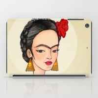 frida iPad Cases featuring Frida by Renia