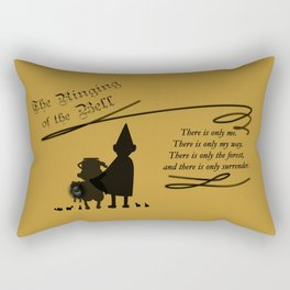 The Ringing of the Bell Rectangular Pillow