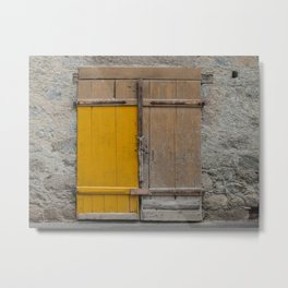 Door near Merano Metal Print