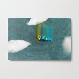Skydiver Metal Print