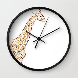 My Spirit Animal is a Giraffe Wall Clock