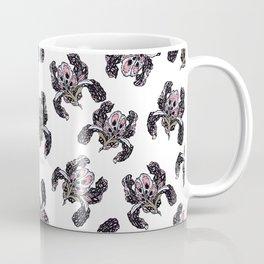 T.F TRAN PINK BUTTERFLY IRIS Coffee Mug