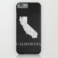 California State Map Chalk Drawing Slim Case iPhone 6s
