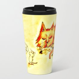 When the Cat's Away Travel Mug
