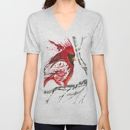 Cardinal Direction Unisex V-Neck