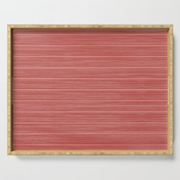 Pastel Red Whitewashed Beach House Cladding Serving Tray