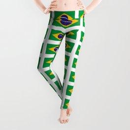 flag of brazil 4-Brazil, flag, flag of brazil, brazilian, bresil, bresilien, Brasil, Rio, Sao Paulo Leggings
