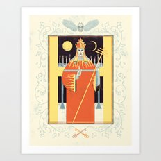 Hierophant Art Print