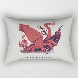 squid goals #squadgoals shirt Rectangular Pillow