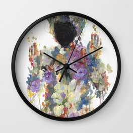 calling for the waters Wall Clock