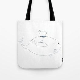 Baleineau Tote Bag