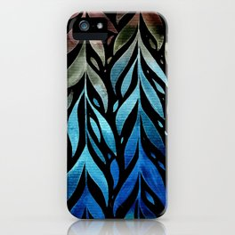 Leafage #04 iPhone Case