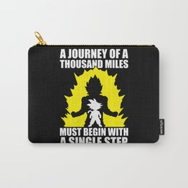 A Journey Of A Thousand Miles (Goku) Carry-All Pouch