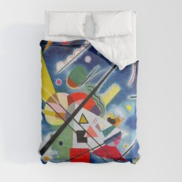 Wassily Kandinsky - Blue Painting - Abstract Art Comforters
