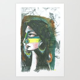Koca Series 1 of 9 Art Print