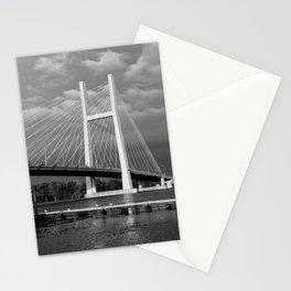 Bridge over Mississippi River Stationery Cards