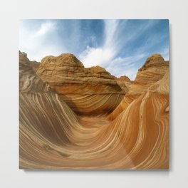 The Wave-Paria Wilderness Metal Print