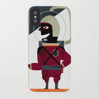spaceman iPhone & iPod Cases featuring SPACEMAN by Eleonora
