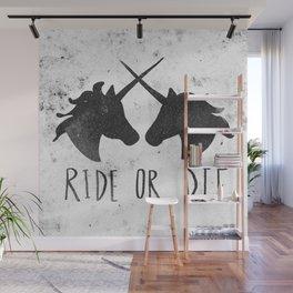 Ride or Die x Unicorns Wall Mural