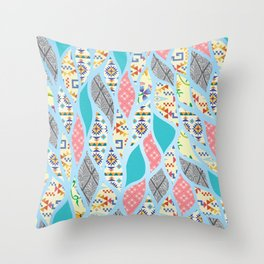 Summer Celebration Throw Pillow