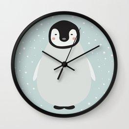 Atticus the penguin Wall Clock