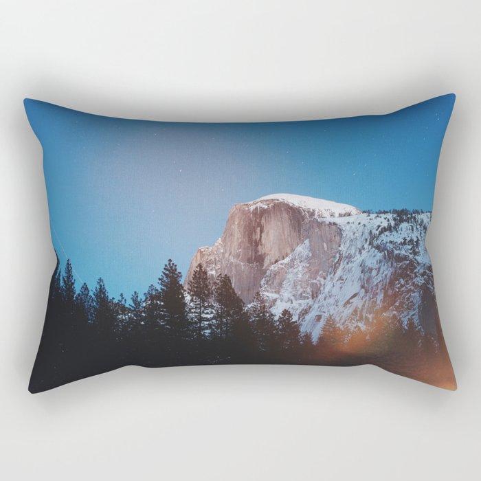 Yosemite Landscape Rectangular Pillow