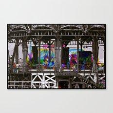 Sequential Serie : Le manège des couleurs Canvas Print