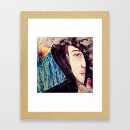 This Is Not What I Had Planned Framed Art Print
