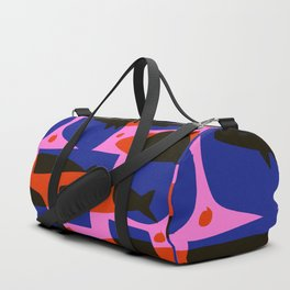 A school of fish Duffle Bag
