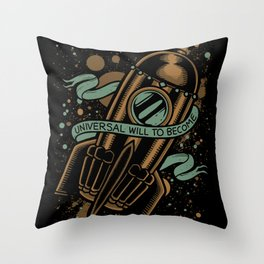 sirens of titan - vonnegut Throw Pillow
