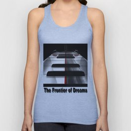 Piano - by HS Design Unisex Tank Top