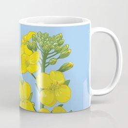 Summer flower in yellow Coffee Mug