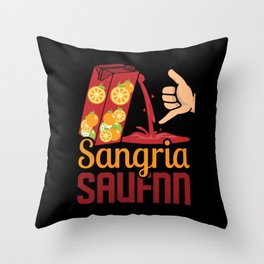 Sangria Wine Spain Wine-based drink alcohol Throw Pillow