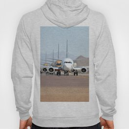 Busy Airport Lineup Hoody