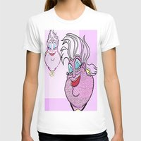 ursula T-shirts featuring Ursula by grapeloverarts