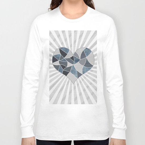 Heart . Patchwork .2 Long Sleeve T-shirt